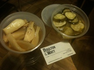 Boulton and Watt pickles