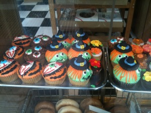 Yet more cupcakes, this time from the new Zabar outlet on 87th and Lexington.