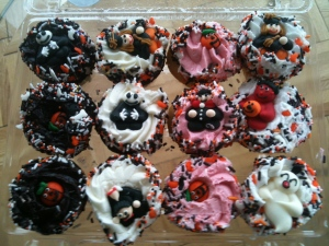 Halloween cupcakes from Fairway