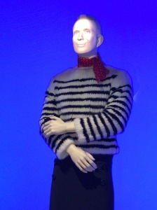 Jean Paul Gaultier talks animatedly