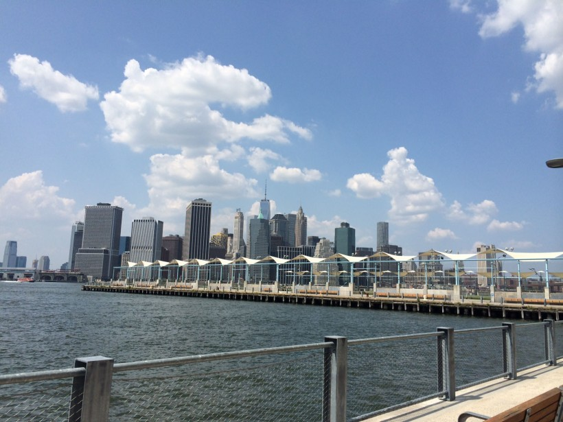 view from Brooklyn