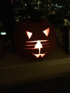 Rather sinister kitty cat for Halloween.